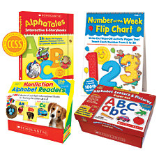 Scholastic Common Core Classroom Kit Pre
