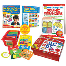 Scholastic Common Core Classroom Kit Kindergarten