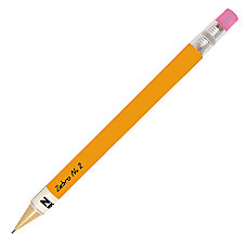 Zebra 2 Mechanical Pencils 07mm Yellow