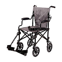 DMI Lightweight Folding Transport Chair 39