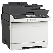 Lexmark Multifunction Color Laser Printer CX410E
