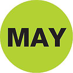 Tape Logic Green MAY Months of