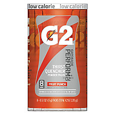 Gatorade Powder Drink Mix Fruit Punch