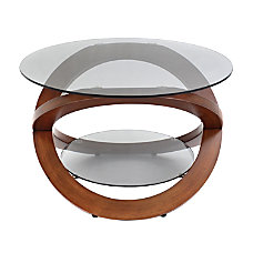 LumiSource Linx Coffee Table BrownSmoke