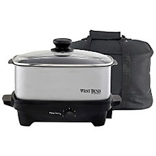 West Bend 84915 Oblong Slow Cooker