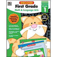 Thinking Kids Discover Workbook First Grade