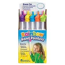 Learning Resources Hand Pointers 15 Rainbow