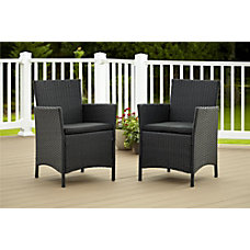 Cosco Jamaica Outdoor Dining Chairs Black