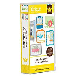 Cricut Project Cartridge Creative Cards