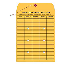 Quality Park Inter Department Envelopes 10