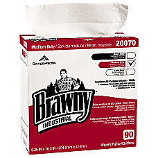 Brawny Industrial Brawny Med Duty All