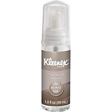 Kleenex 15oz Alcohol free Foam Sanitizer