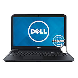 "Dell™ Inspiron 15 (3521) (i15RVT-6143BLK) Laptop Computer With 15.6"" Touch-Screen Display & 4th Gen Intel® Core™ i3 Processor"