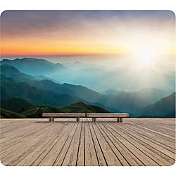 Fellowes Recycled Mouse Pad Mountain Sunrise