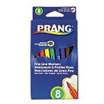 Prang Washable Art Markers Fine Tip