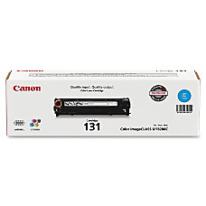 Canon 131 Cyan Ink Cartridge 6271B001AA