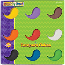 ChenilleKraft Tempera Cake 9Set Assorted Yellow