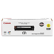 Canon 131 Toner Cartridge Yellow 6269B001AA