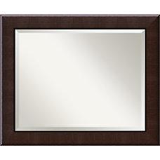 Amanti Art Dark Umber Wall Mirror