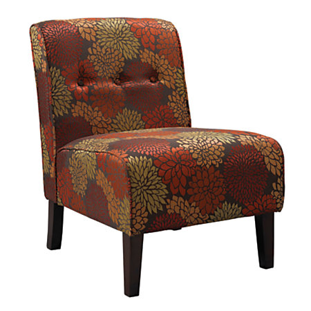 Linon Home Coco Accent Chair Harvest Colorsdark Walnut By