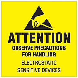 Tape Logic Preprinted Labels Attention Observe