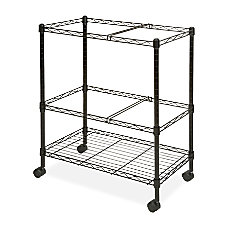 Lorell Mobile Wire File Cart 4