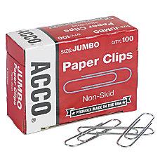 ACCO Economy Jumbo Paper Clips 1