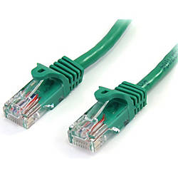 StarTechcom 15 ft Green Snagless Cat5e