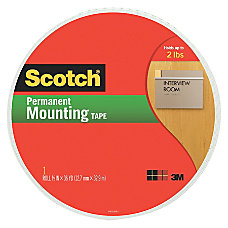 Scotch Double Sided Foam Mounting Tape