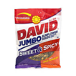 David Jumbo Sunflower Seed Pouches Sweet