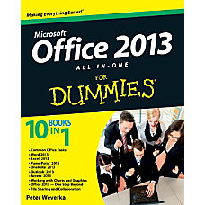Office 2013 All In One For