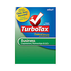 TurboTax Business 2012 Windows Download Version By Office