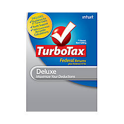 TurboTax Deluxe Fed + Efile 2012, Windows, Download Version