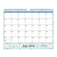 Blue Sky Wire O Monthly Wall