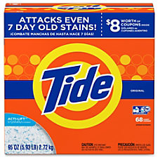 Tide Powder Laundry Detergent Concentrate Powder