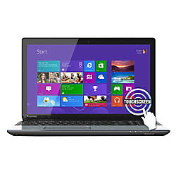 "Toshiba Satellite® S55t-A5389 Laptop Computer With 15.6"" Touch-Screen Display & Intel® Core™ i7 Processor, Silver"