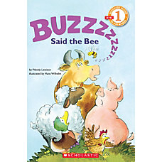 Scholastic Reader Level 1 Buzz Said