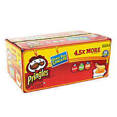 Pringles Variety Pack Box Of 36