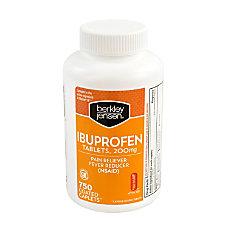 Berkley Jensen Ibuprofen Tablets 200 mg