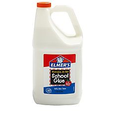 Elmers Washable School Glue 128 Oz