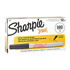 Sharpie Industrial Permanent Markers Extra Fine