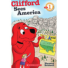 Scholastic Reader Level 1 Clifford Sees