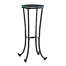 Monarch Specialties Plant Accent Table Round