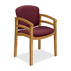 HON Contemporary Wood Guest Chair Double