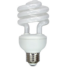 GE 20W Compact Fluorescent T3 Spiral
