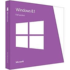 Microsoft Windows 81 32 Bit64 Bit