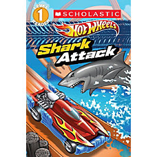 Scholastic Reader Level 1 Hot Wheels