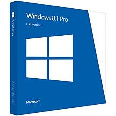 Microsoft Windows Professional 81 32 Bit64
