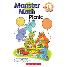 Scholastic Reader Level 1 Monster Math