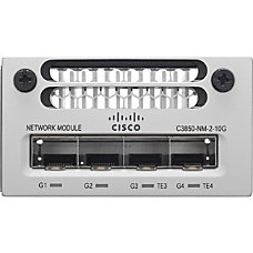 Cisco C3850 NM 2 10G Network